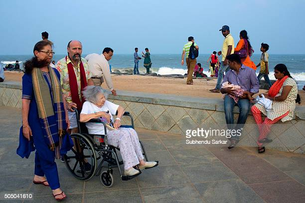 Spending time by the sea during afternoon is a favourite past time of the people in Puducherry Puducherry formerly known as Pondicherry is a Union...
