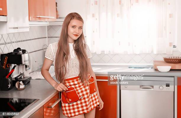 spending time in the kitchen