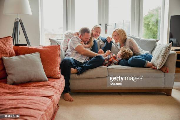 spending time with family - 45 49 years stock pictures, royalty-free photos & images