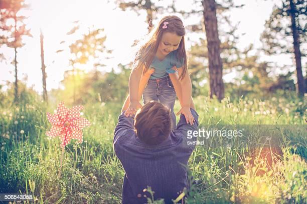 Verbringt er gern Zeit mit seiner kleines Mädchen