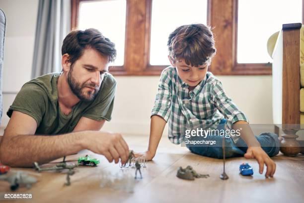 Tijd doorbrengen met mijn zoon