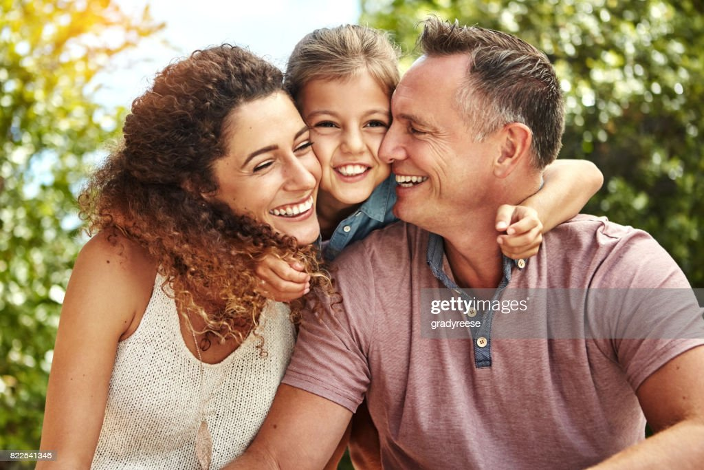 Spending time with what's most important in life : Stock Photo