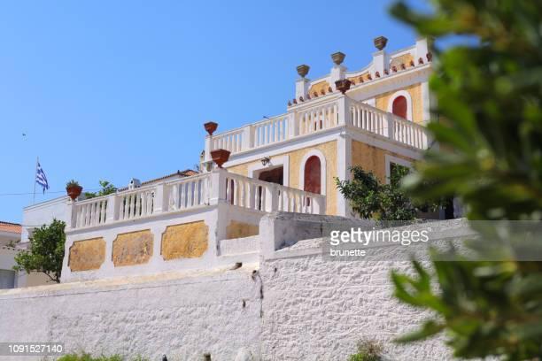 Spetses island villa on promenade