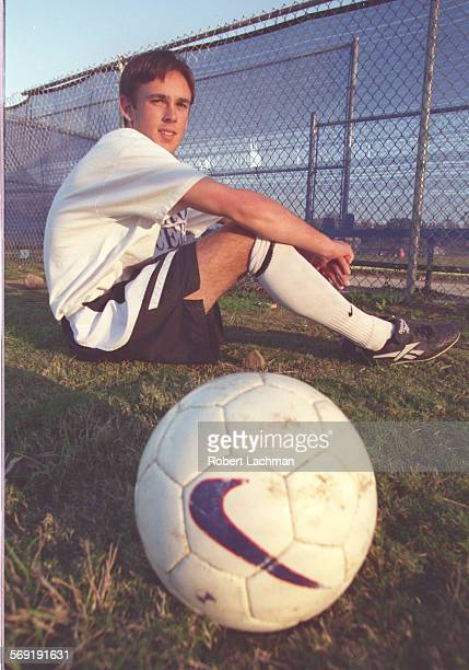 SPFraser/SitRDL El Toro High School scoccer player Wade Fraser is photographed at the Lake Forest campus TIMES