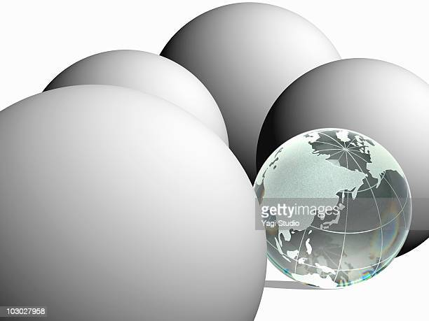 Sphere and the earth
