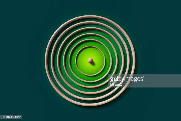sphere surrounded by concentric rings - protection stock pictures, royalty-free photos & images