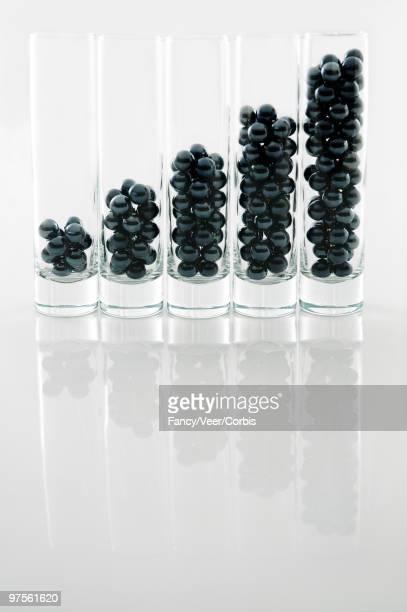 Spheres in vases