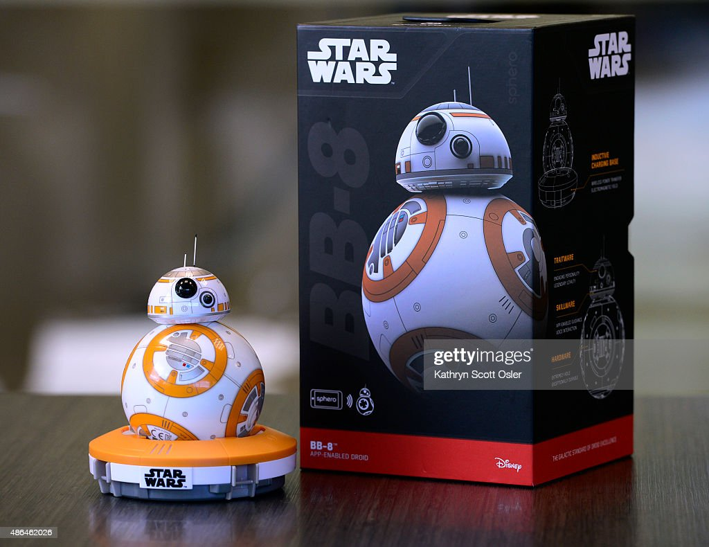 Boulder company Sphero makes Star Wars toy droid BB8. : News Photo