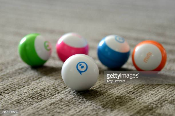 Sphero's new mini a toy robots at the Sphero campus in Boulder Colorado on December 1 2017 The mini can be programed by the user to complete actions