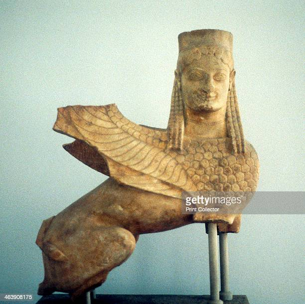 Sphinx from Sparta Ancient Greece In Greek mythology a Sphinx was a female monster with a human head and a lion's body It posed riddles and killed...