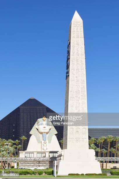 Sphinx + Obelisk - Luxor Las Vegas
