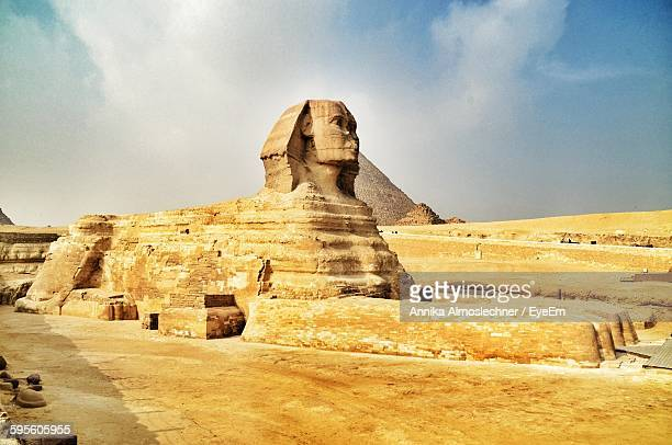 Sphinx Of Giza Against Sky