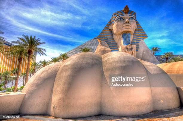 Sphinx outside Luxor Hotel
