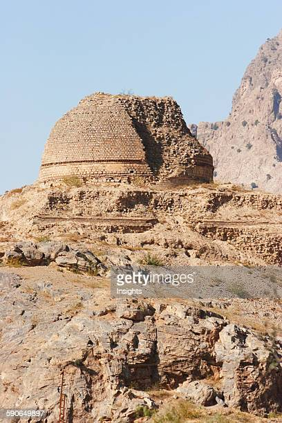 Sphola Stupa In The Khyber Pass Federally Administered Tribal Areas Pakistan