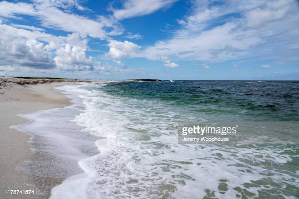 spiagga di is arutas - jeremy woodhouse stock pictures, royalty-free photos & images
