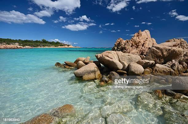 spiaggia del principe - costa smeralda stock pictures, royalty-free photos & images