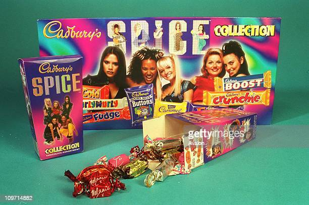 Spice Girl Chocolates The new SPICE GIRL collection of chocolates from Cadbury's Fans can choose from the Spice Girl collection box individually...