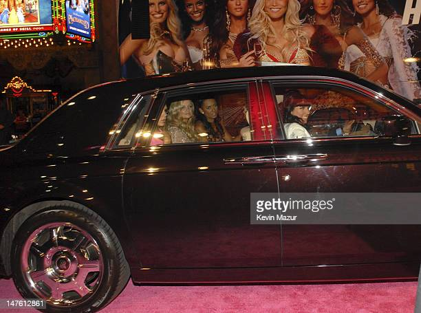 Spice Girls arrive at the 12th Annual Victoria's Secret Fashion Show at the Kodak Theater on November 15 2007 in Los Angeles