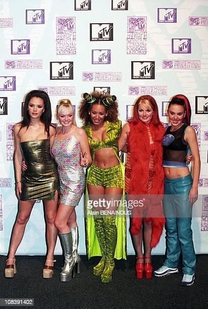 Spice Girls in Rotterdam, Netherlands on November 06, 1997.