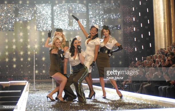 Spice Girls perform during the 12th Annual Victoria's Secret Fashion Show at the Kodak Theater on November 15 2007 in Los Angeles