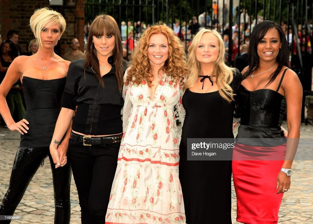 Spice Girls Photocall - Greenwich : News Photo