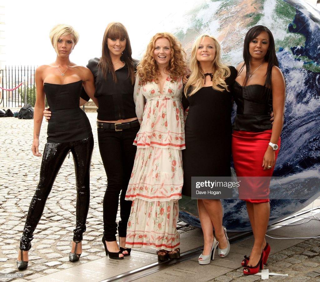 Spice Girls Photocall - Greenwich : News Photo