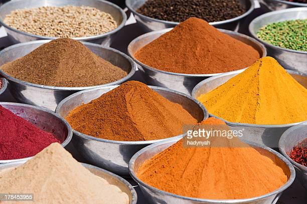 Spice market in Egypt