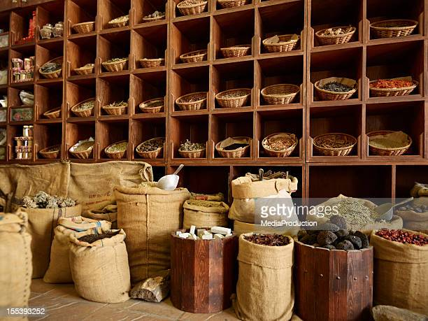 spice market in old dubai - spice stock pictures, royalty-free photos & images