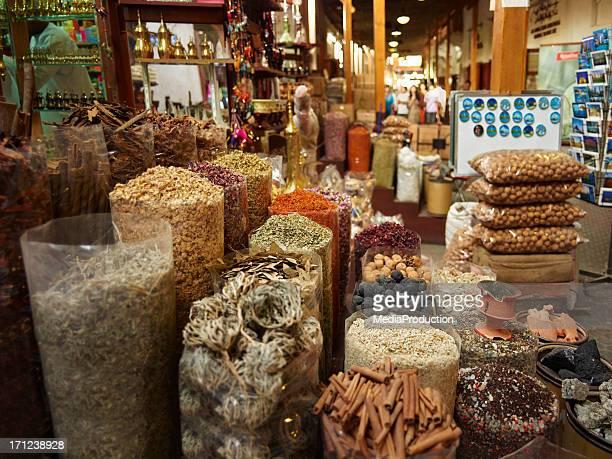 Spice market in old Dubai