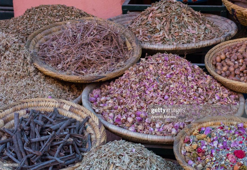 Spice market : Stock Photo