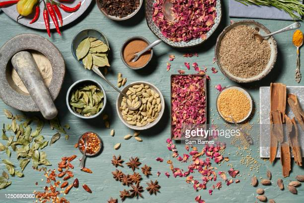 spice selection - multi coloured stock pictures, royalty-free photos & images