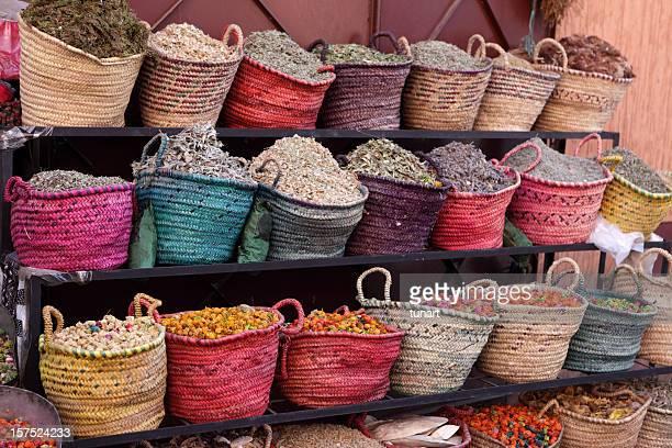 Spice Shop, Marrakech, Morocco