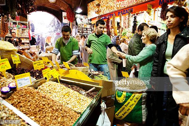 Spice stand at the Grand Bazaar