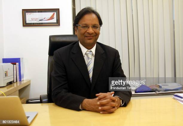 17 Profile Shoot Of Spicejet Chairman Ajay Singh Pictures