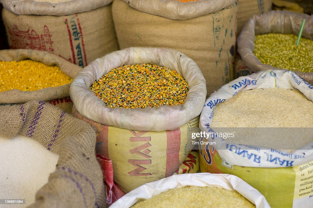 Dried Food On Sale in Market, Udaipur, India : News Photo