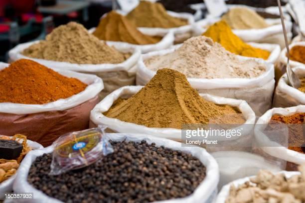 Spices at Anjuna Market.