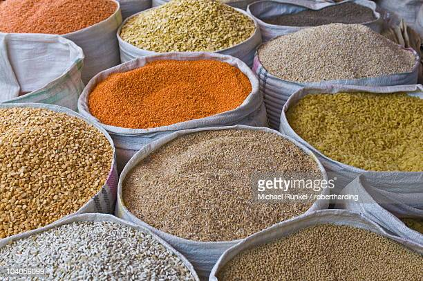 spices for sale, addis ababa, ethiopia, africa - addis ababa stock pictures, royalty-free photos & images
