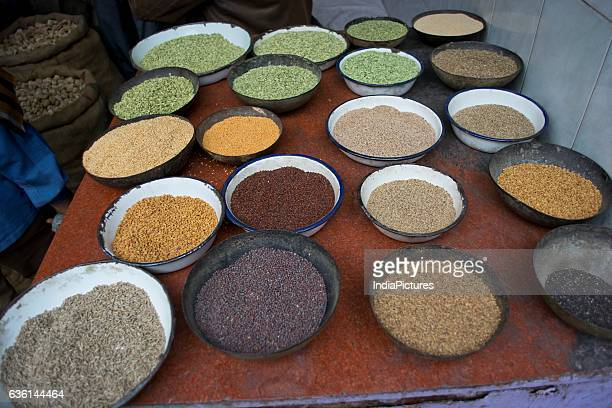 Spices In Bowls For Sale At Marketindia