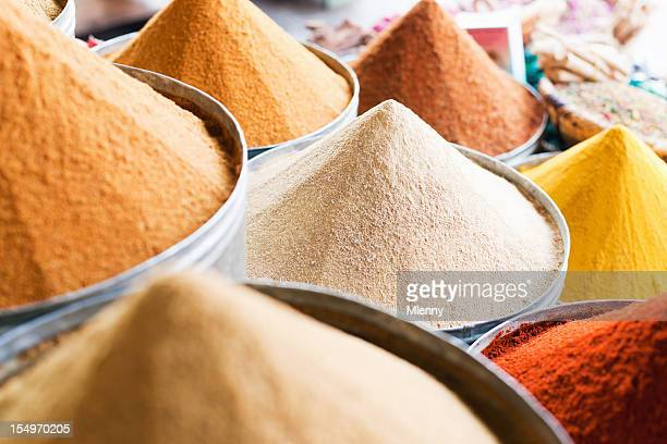 spices marrakesh medina morocco - souk stock pictures, royalty-free photos & images