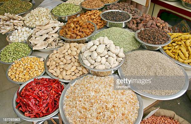 spices - garam masala stock photos and pictures