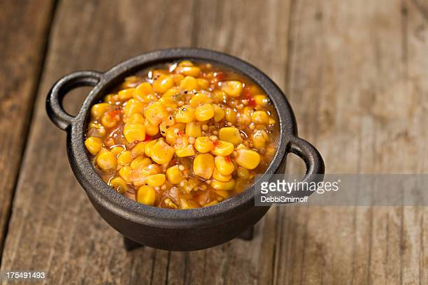 spicy corn salsa - salsa sauce stock photos and pictures