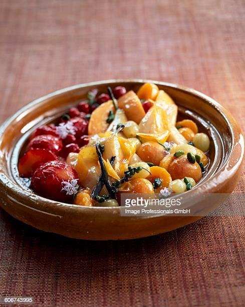 Spicy fruit Tajine