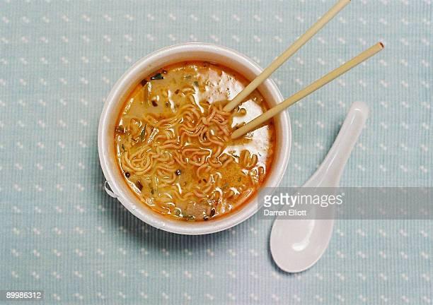 spicy instant ramen