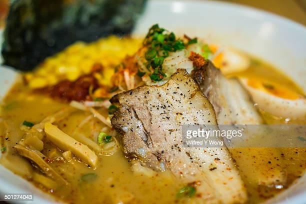 Spicy Japanese ramen