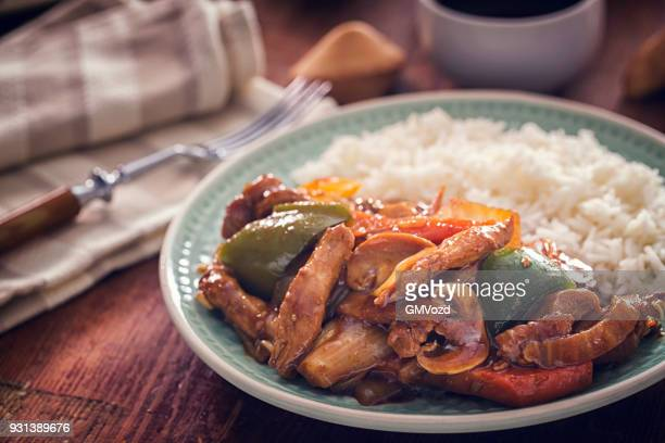 Würzige Kung Pao Chicken
