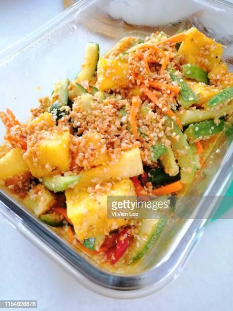 Spicy nonya cucumber pineapple pickle Achar