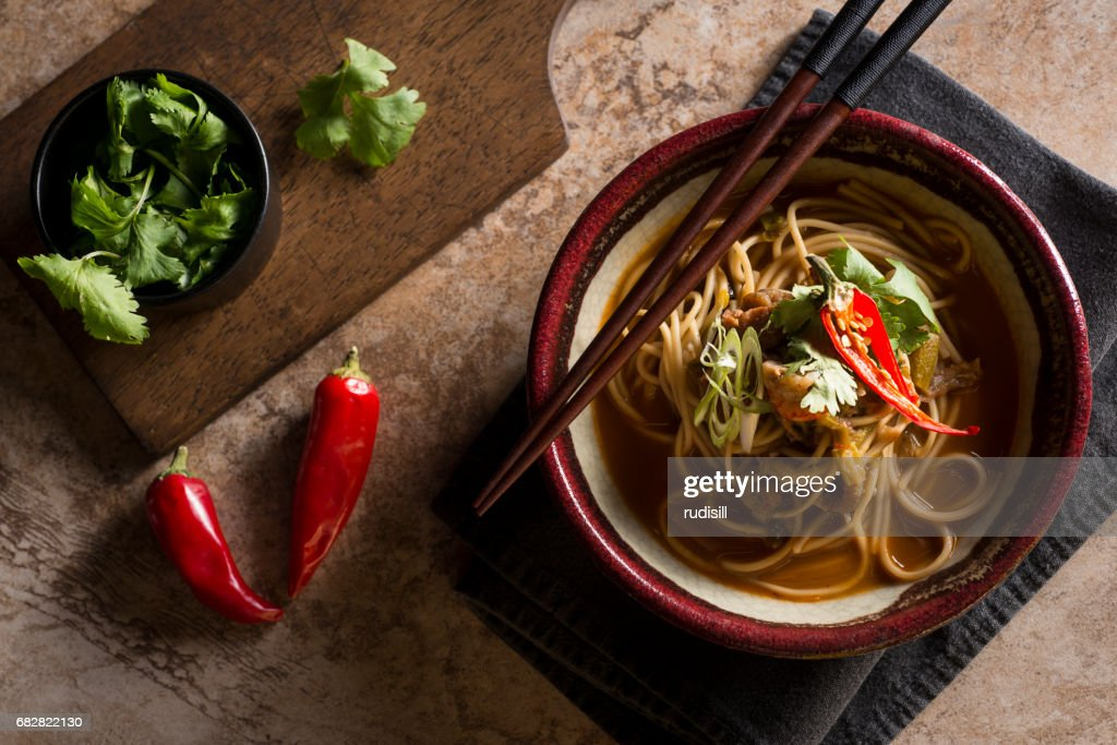 Spicy Ramen : Stock-Foto
