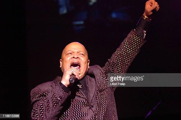 Spider performs during the Motown Legends CasinoNet Masonic Temple Detroit Michigan