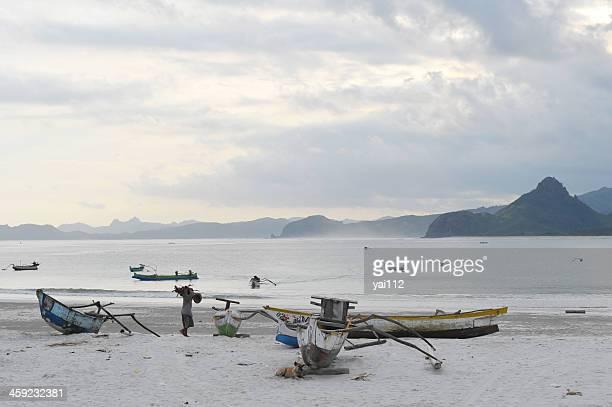 spiderboats - lombok fotografías e imágenes de stock