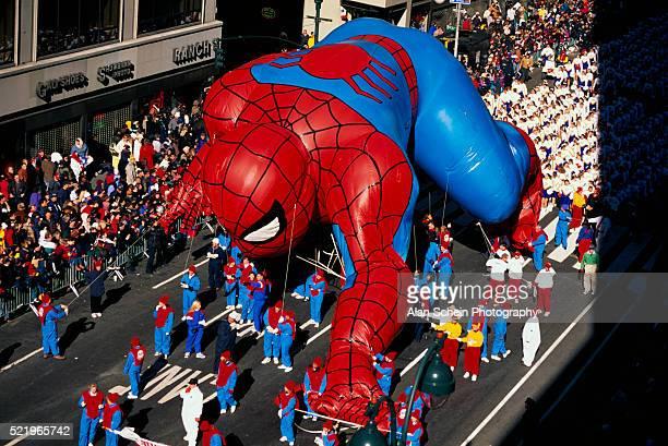 Spider-Man Balloon at Macy's Parade